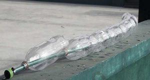 Система полива из пластиковых бутылок